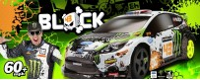 Peças - HPI Racing - Ken Block WR8 with Ford Fiesta H.F.H.V. Body 1/8
