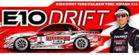 Peças - HPI Racing - E10 DISCOUNT TIRE/FALKEN TIRE NISSAN S13 1/10