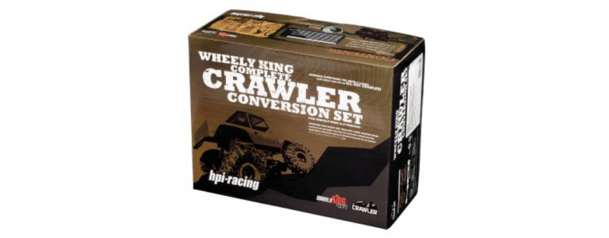 Wheely King Complete Rock Crawler Conversion 1/10