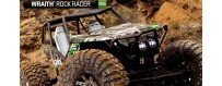 Peças - AXIAL RACING - Axial Wraith 1/10th Scale Electric 4WD - RTR