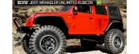 Peças - AXIAL RACING - SCX10™ 2012 Jeep® Wrangler Unlimited Rubicon 1/10th  4WD - Kit
