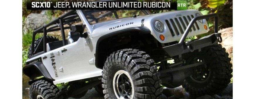 Peças - AXIAL RACING - SCX10™ 2012 Jeep® Wrangler Unlimited Rubicon 1/10th 4WD - RTR
