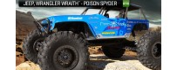 Peças - AXIAL RACING - Jeep® Wrangler Wraith-Poison Spyder Rock Racer 1/10th 4WD - RTR